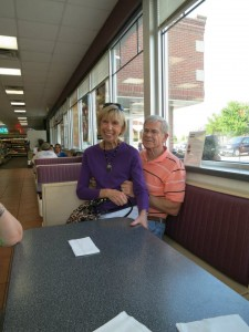 mom and dad at mcsaltys.jog